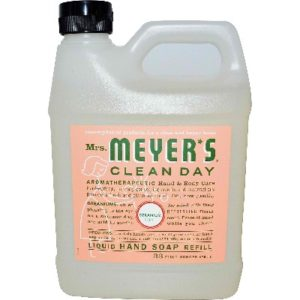 Mrs Meyers Liquid Hand Sp Refil Ger (6x33OZ )