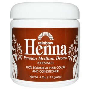 Rainbow Research Medium Brown Henna (1x4OZ )