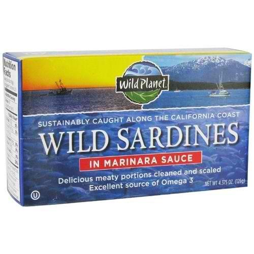 Wild Planet Wild Sard In Mrnra (12x4.37OZ )