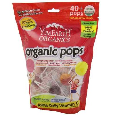 Yummy Earth Lollipop Asst (12x8.5OZ )