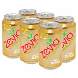 Zevia Creme Soda (4x6Pack )