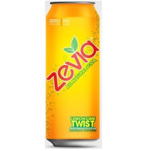 Zevia Nat Twist Soda (12x16OZ )