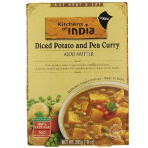 Kitchen Of India Aloo Mutter, Diced Pot & Pea Curry (6x10 OZ)