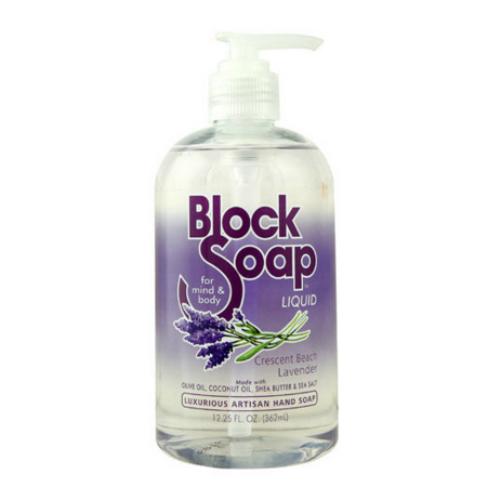Blocksoap Crescent Beach Lavender Liquid Soap (1x12.25 OZ)