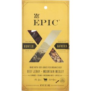Epic Trail Mix Beef Jerky Hunt and Harvest Mountain Medley (8x2.25 OZ)