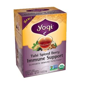 Yogi Tulsi Spiced Berry Immune Support Tea (6x16 BAG )