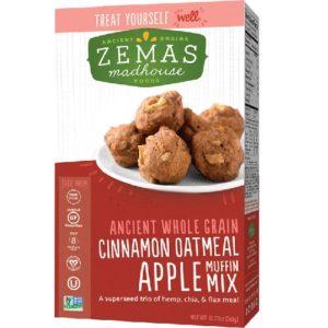 Zema's Madhouse Foods Muffin Mix Cinnamon Oatmeal Apple (6x12.73 OZ)