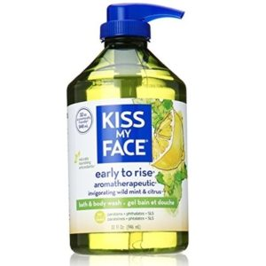 Kiss My Face Early to Rise Bath and Body Wash Wild Mint and Citrus (1x32 OZ)