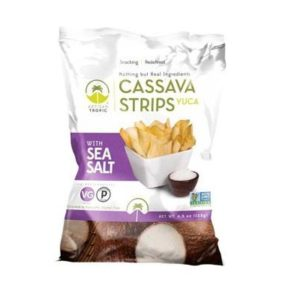 Artisan Tropic Cassava Strips With Sea Salt (12x4.5 OZ)