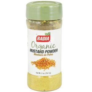 Badia Organic Mustard Powder (12x2 OZ)