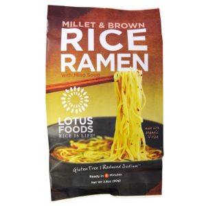 Lotus Foods Rice Ramen Noodles Millet and Brown Rice with Miso Soup  (10x2.8 OZ)