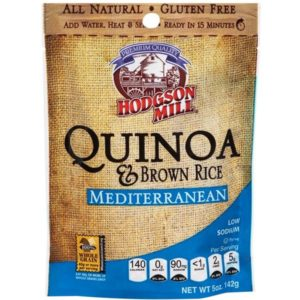 Hodgson Mill Quinoa & Brown Rice Mediterranean (6x5 OZ)