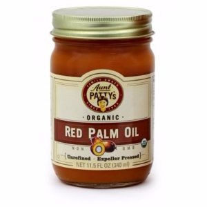 Aunt Patty's Organic Red Palm Oil (6x11.5 OZ)