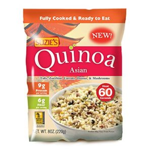 Suzie's Quinoa Ready-to-Eat & Fully Cooked Asian (6x8 OZ)