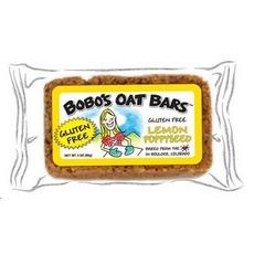 Bobo's Oat Bars Gluten Free All Natural Bar Lemon Poppyseed (12x3Oz)