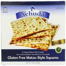 Yehuda Matzo-Style Squares Gluten Free Toasted Onion  (12x10.5Oz)