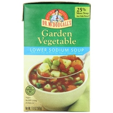 Dr. McDougall's Light Sodium Garden Vegetable Soup (6x17.9Oz)