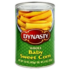 Dynasty Corn Baby Sweet (12x15Oz)