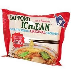 Sapporo Soy Sauce Noodle Soup (24x3.5Oz)
