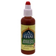 A Taste Of Thai Garlic Chili Pepper Sauce (6x7Oz)