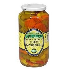 De Lallo Mild Giardinera (6x25.5 Oz)