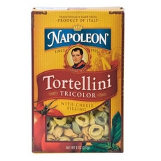Napoleon Tricolor Tortellini With Cheese Filling (12x8Oz)