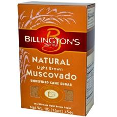 Billington's Natural Light Brown Muscovado Sugar (10x1 Lb)