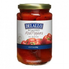 De Lallo Roasted Red Peppers In Water (12x12Oz)