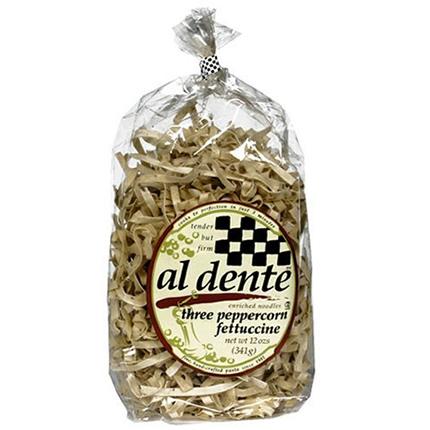 Al Dente Three Peppercorn Fettuccine (6x12Oz)