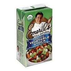 Emeril's Organic Vegetable Stock (6x32Oz)