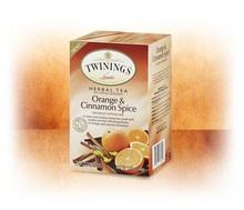 Twinings Orange & Cinnamon Spice Tea (6x20 Bag)
