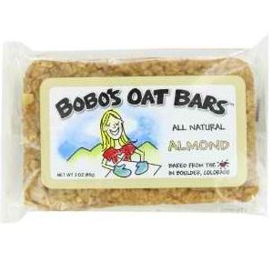 Bobo's Oat Bars Almond Oat Bars (12x3 Oz)