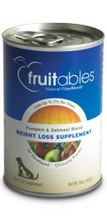 Fruitables Pumpkin/Oatmeal Blend, Dog Weight Loss (12x15 Oz)